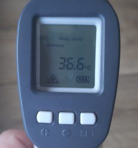 pomiar temperatury pracowników